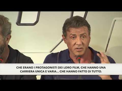 The Expendables 3 - Press Conference - Stallone - Sub ITA - I MERCENARI 3