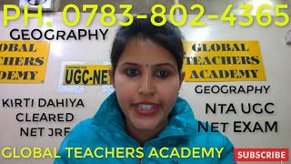 Reviews Global Teachers Academy Reviews - How to Prepare for UGC NET JRF Geography Exam