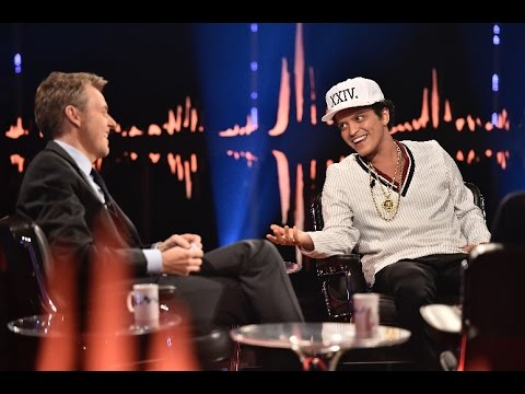 Interview with Bruno Mars