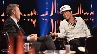 Interview with Bruno Mars: – That's the hardest question anyone has ever asked | SVT/NRK/Skavlan