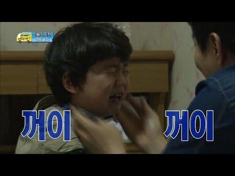 [HOT] 아빠 어디가 - '1분 안에 울기 미션' 눈물샘 폭발한 찬형이, 연기신동인가봉가!? 20140504