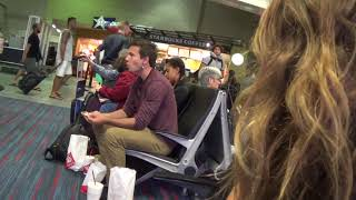 Dawgs gotta eat @ the airport Nats 2017