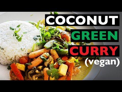 EASY VEGAN COCONUT CURRY RECIPE | VEGAN DINNER IDEA | BEST VEGAN HOW TO RECIPES
