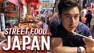 Eating Brunch at a Japanese Market | Street Food Japan