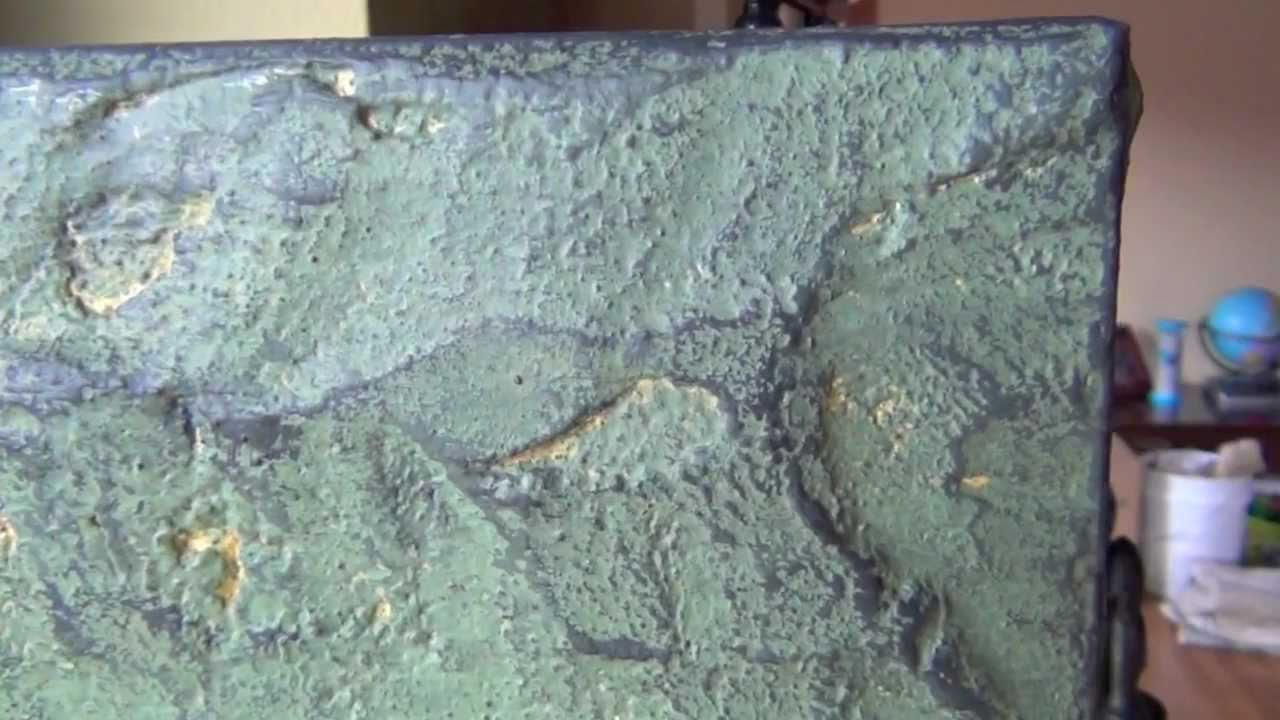 Unique Environments How To Create A Textured Stone Faux