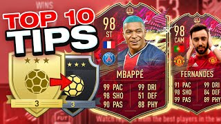 FIFA 21 TOP 10 TIPS TO WIN MORE GAMES DURING TOTS! IMPROVE AT ATTACKING / DEFENDING IN FUT 21 CHAMPS