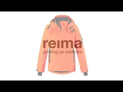 REIMA Wheeler Boys Jacket in Orange