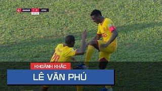 Lê Văn Phú vuốt bóng tung nóc lưới Viettel, mở tỷ số cho Nam Định