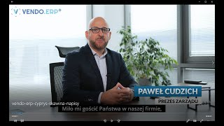 Wzrost wydajności i automatyzacja procesu zamówień z VENDO.ERP® - CYPRYS Producent Mebli