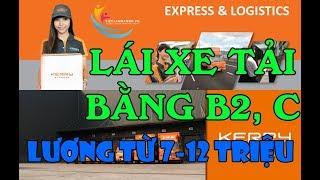 Công ty TNHH Kerry Express (Việt Nam) tuyển Nhân viên Lái xe tải bằng B2, C