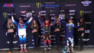 250SX Main Event Highlights - Minneapolis