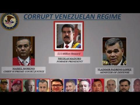 EEUU acusa a Maduro y Cabello de convertir a Venezuela en un narcoestado