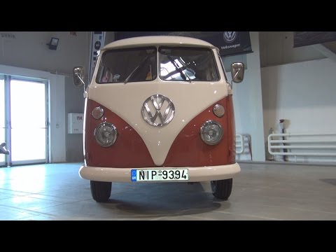 Volkswagen Transporter T1 (1964) Exterior and Interior in 3D