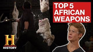 Forged in Fire: TOP 5 AFRICAN WEAPONS OF ALL TIME | History