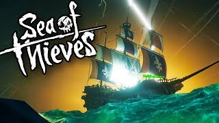 EPIC Pirate Ship Battles, SHARK Attacks & Treasure HUNTS! (Sea of Thieves Crossplay Gameplay)