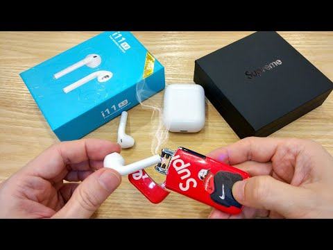 i11 TWS AirPods Review + Supreme Plasma Lighter = My Last Video