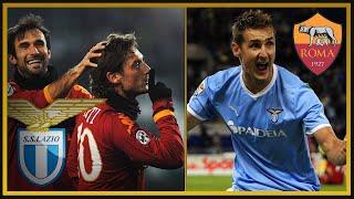Derby Roma vs Lazio 2006-2013 (ft. Piccinini, Caressa, Compagnoni)