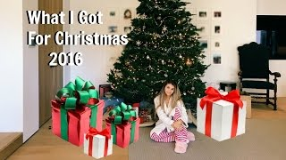 (LUXURY) WHAT I GOT FOR CHRISTMAS 2016 l Olivia Jade