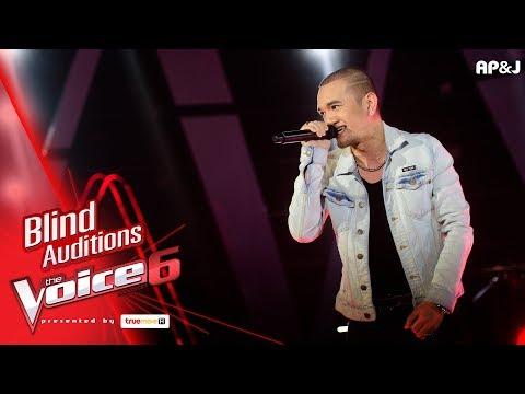 จิน - บางระจัน - Blind Auditions - The Voice Thailand 6 - 26 Nov 2017