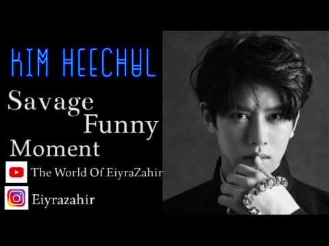 김희철 KIM HEECHUL SAVAGE FUNNY MOMENT PART 2..