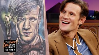 Matt Smith Is Impressed with 'Doctor Who' Fan Tattoos