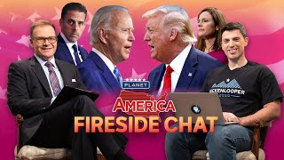 More grim polls for Trump as he steps up attacks on Biden | Planet America: Fireside Chat