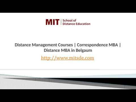 Distance MBA in Belgaum | PGD Management Courses in India | Correspondence MBA