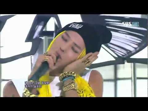 [COMBACK] G-DRAGON [ONE OF A KIND + CRAYON] @SBS Inkigayo 인기가요 20120916
