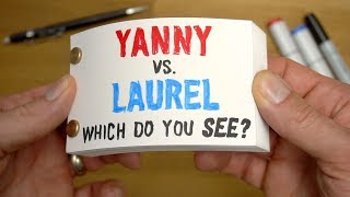 Yanny vs Laurel FLIPBOOK - Which do you SEE?