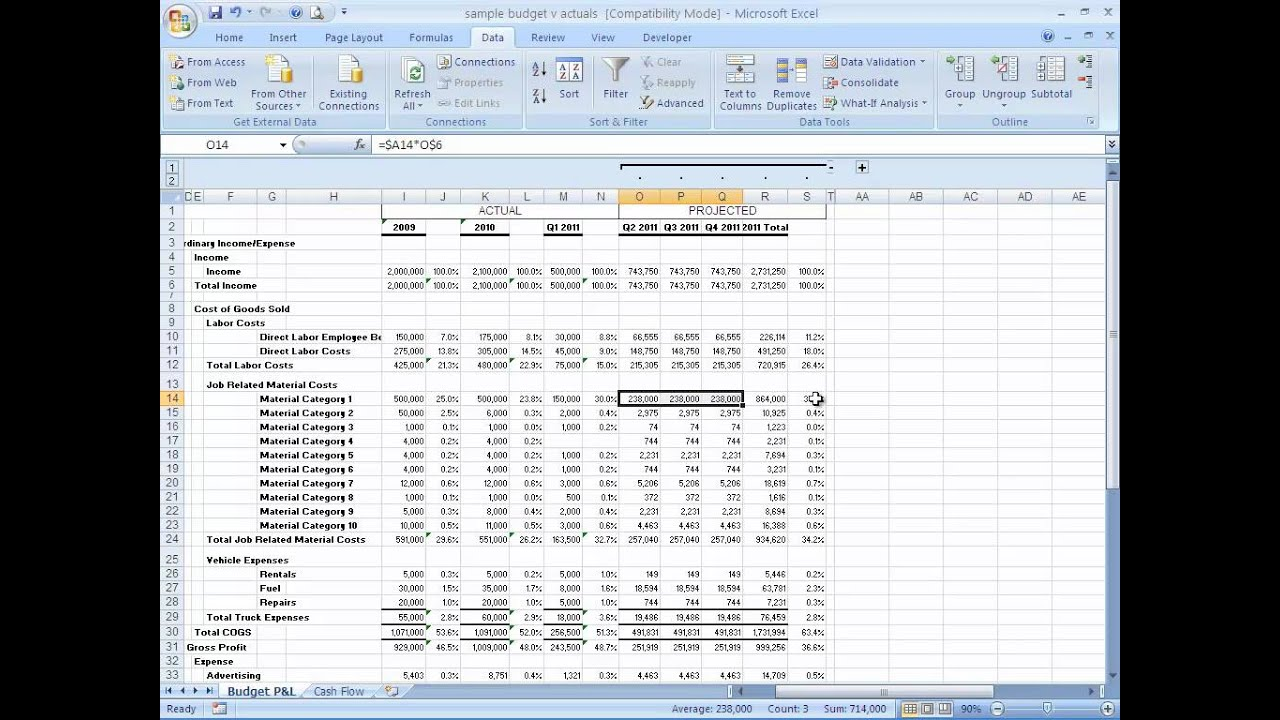 How To Build A Basic Financial Projection Business