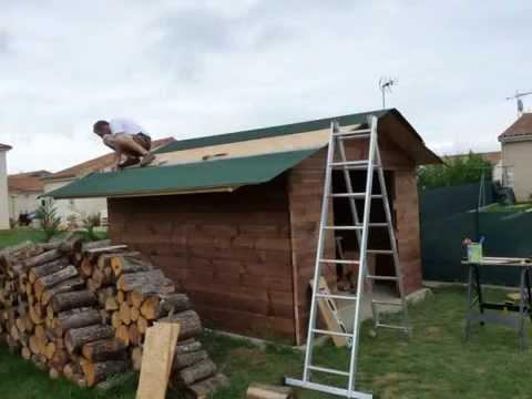 Etancheite sol abri de jardin isolation sous toiture garage - Rouleau de bitume pour abri de jardin ...