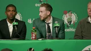 The Boston Celtics Introduce Kyrie Irving and Gordon Hayward!