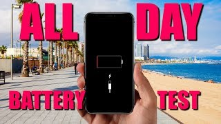 iPhone XS - All day battery test!