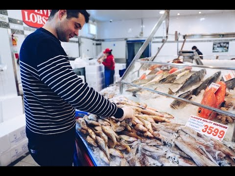 We follow chef David Coumont from Sydney Fish Market to Moxhe Restaurant
