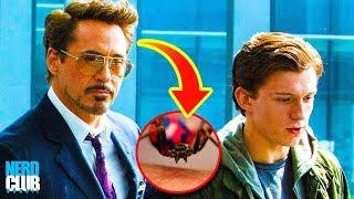 Tony Stark criou a aranha que picou Peter Parker