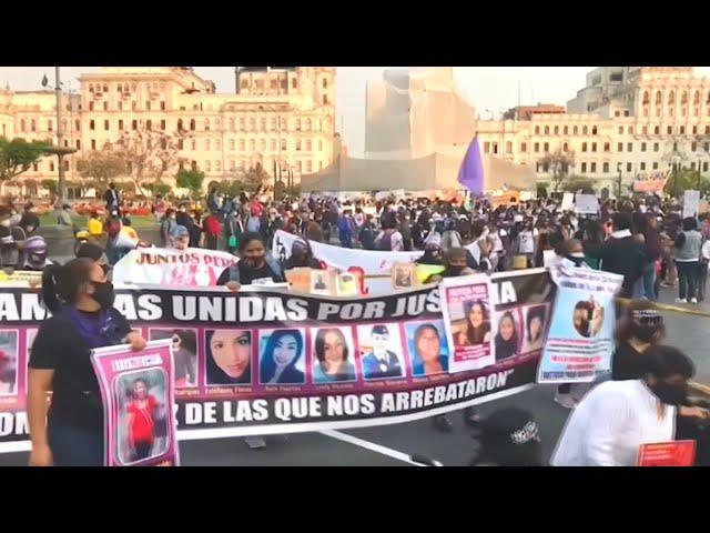 11/25國際消除對女性施暴日 婦團走上街頭
