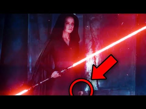 STAR WARS Rise of Skywalker D23 Trailer Breakdown! Easter Eggs You Missed!