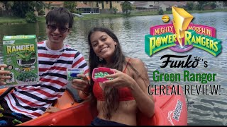 Power Rangers Funko's Green Ranger Cereal REVIEW! (ON A KAYAK!?)