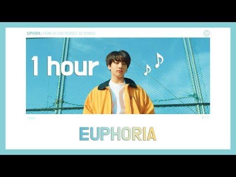 [ 1 Hour ] BTS 방탄소년단 (정국 JungKook ) ' Euphoria ' (유포리아 1시간 재생)