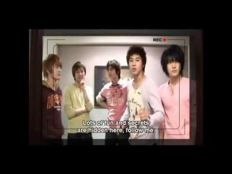 TVXQ - House Tour - Eng Sub 1/4 [HD]