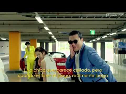 El Baile del caballo - PSY Gangnam Style (Subtitulado Español)