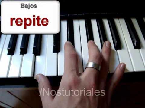 Alejate de mi -CAMILA-  Piano tutorial -