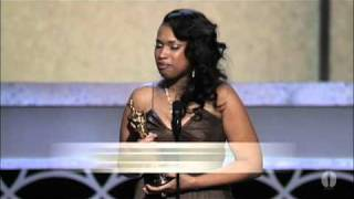 Jennifer Hudson winning Best Supporting Actress