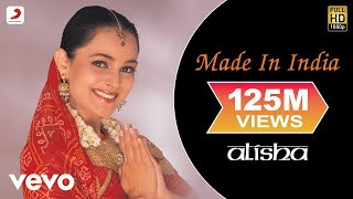 Alisha Chinai - Made In India Official Video | Milind Soman | Biddu | Ken Ghosh