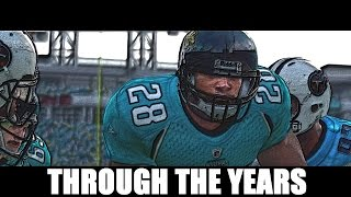 Fred Taylor Through The Years NCAA Football 98 - Madden 12