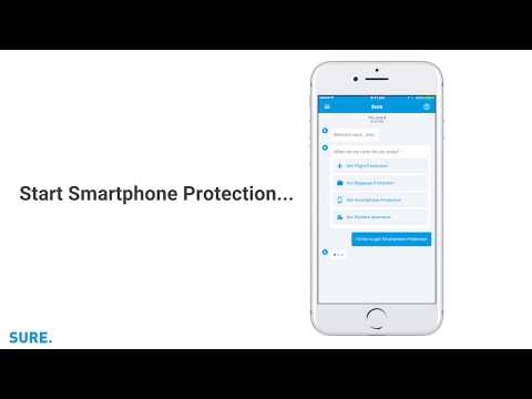 SURE launches the first smartphone insurance product that can be remotely tested and approved on any healthy phone, regardless of its age.