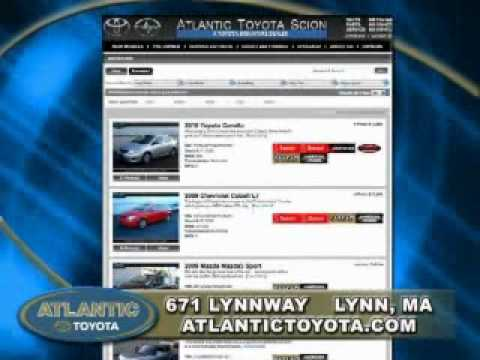 Atlantic Toyota TV Commercial - Used Vehicles Lynn MA