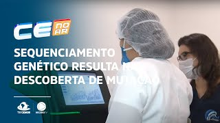 Sequenciamento genético resulta na descoberta de mutação no Ceará