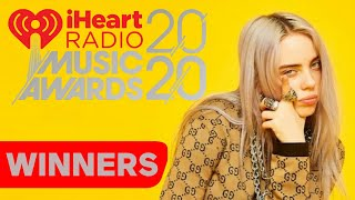 iHeartRadio Music Awards 2020 - Winners