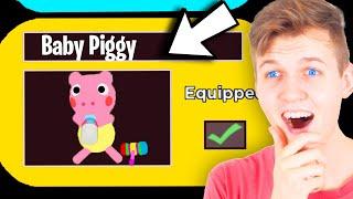 Can We Unlock The SECRET BABY PIGGY SKIN!? (NEW PIGGY SKINS REVEALED!)